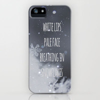 Snowflakes iPhone Case by SUNLIGHT STUDIOS | Society6