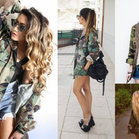 Vixen Boutique  Vintage Army Jacket
