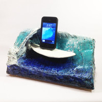 Gone Surfin' iPhone Docking Station - Made to Order