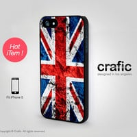 iPhone 5 Case - Vintage British Flag iPhone Case