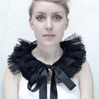 Black Tulle Collar | Charlotte Haggerty | ASOS Marketplace