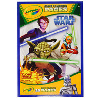 Crayola Star Wars Clone Wars Giant Coloring Pages