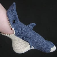 Socks That Look Like Sharks Are Eating Your Leg &amp; Foot