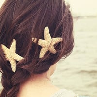 Sugar Starfish Hair Clip