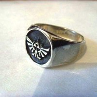 Solid Sterling Silver 925 Zelda Ring ALL SIZE by blackmore5253