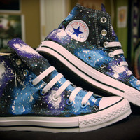 Galaxy Converse High Tops