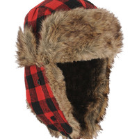 Plaid Trapper Hat | FOREVER21