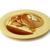 PANCAKE PLATES - SET OF 2 | Jon Wye, Pancake, Reservoir, Breakfast, Slopes, Syrup. | UncommonGoods