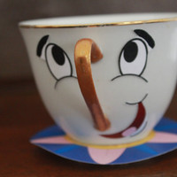 Beauty and the Beast Chip the Teacup DIY Printable &amp; Directions