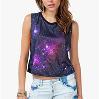 A'GACI Galaxy Muscle Tank - TOPS