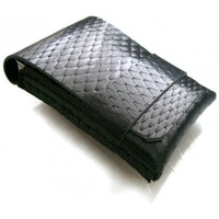 Leather Wallet Men Wallet Leather Card Holder Diamond by leathermix
