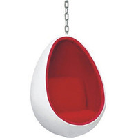 Wilson Hanging Egg Chair- Fine Mod Imports Inc.-For the Home-Living Room-Chairs & Recliners