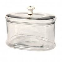 Glass  Songbird Storage Jar | DotComGiftShop