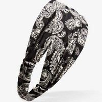 Paisley Print Headwrap | FOREVER 21 - 1034759180