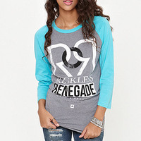 Young & Reckless Reckless Renegade Raglan Tee at PacSun.com