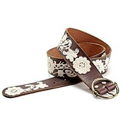 Embroidered Paisley Floral Belt - Accessories - Lucky Brand Jeans