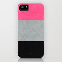 three stripes - cosmopolitan iPhone Case by her art | Society6