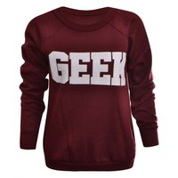 NEW WOMENS LADIES GEEK P...
