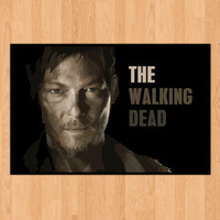 The walking deadDarylposter by DigitalFrontier on Etsy
