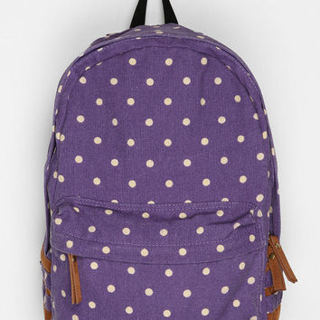 Urban Outfitters - Carrot Polka Dot Backpack