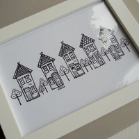 """up My Street"" - Illustrated Print"
