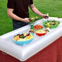 Inflatable Portable Buffet and Salad Bar