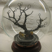 One of a kind Steampunk Terrarium by marcusposton on Etsy