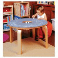 Offi Chalkboard Table