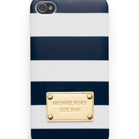 MICHAEL Michael Kors  Striped iPhone5  Cover - Michael Kors