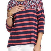 Split Stripes Pullover - Anthropologie.com