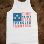 Star Spangled Hammered (Vintage Tank)