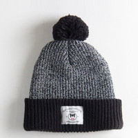 Profound Aesthetic The Brooks PomPom Beanie ZebraBlack : Karmaloop.com - Global Concrete Culture