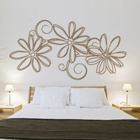 Floral Outlines wall decal housewares