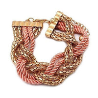 Pree Brulee - Wrap Me In Love Bracelet - (available in pink and blue)