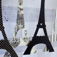 Eiffel Tower Garland by tuckerreece on Etsy