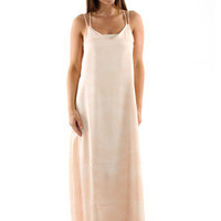 RVCA Spirit Voice Maxi Dress in Tea Rose