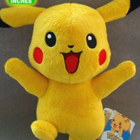 Pokemon: Happy Pikachu Plush 10-inch