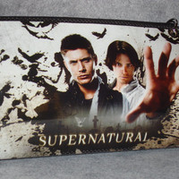 SUPERNATURAL Magazine PURSE sm handbag Free Mini by FlauntPurses
