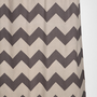 Urban Outfitters - Tonal Zigzag Shower Curtain