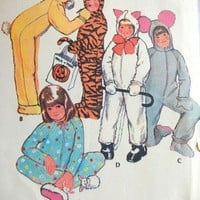 McCall&#x27;s Pattern 3355 Kids Animal Costume Size 2, Bunny Mouse Cat