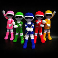 Buy Superhero Team Crosheiders pattern - AmigurumiPatterns.net