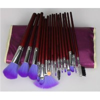 Amazon.com: 16pc Professional Cosmetic Makeup Make up Brush Brushes Set Kit With Purple Bag Case: Beauty