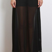 Underneath It All Maxi Skirt