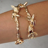 SABO SKIRT  Deer Head Bangle - $16.00