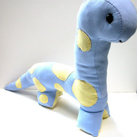 Dinosaur Suffed Animal Ecofriendly Stuffy by RopeSwingStudio