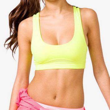 Medium Impact - Cross Back Sports Bra
