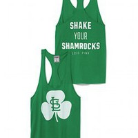 St. Louis Cardinals St. Patricks Day Tank - PINK - Victoria's Secret