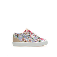 Floral fabric plimsoll - Shoes - Baby girl - Kids - ZARA United States