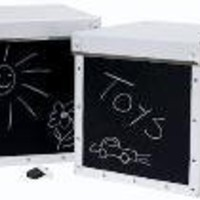 Blackboard Tyo Storage Boxes