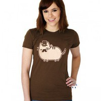 ShanaLogic.com - 100% Handmade &amp; Independent Design! Sir Fancy Cat Tee - Best Sellers